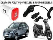 Chargers for Two-Wheelers & Four-Wheelers