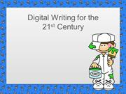 Digital Writing for Web