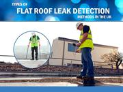 Types of Leak Detection Methods Used by UK Leak Detection Specialists