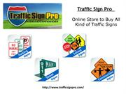 Road Sign for Sales