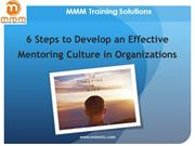 6 steps to develop an effective mentoring culture in organizations