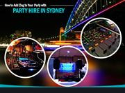 Jazz up Your Party with Professional Party Hire in Sydney