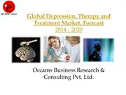 Global Depression Therapy Market | Anxiety Disorders | Drug Market