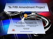 The Fifth Amendment Project