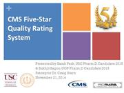 CMS Five-Star Quality Rating System