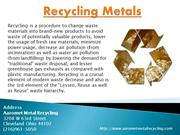Brass Scrap Metal - Aaromet Metal Recycling-ppt