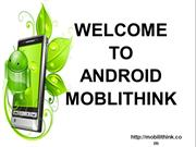 Android Mobile Development Applications