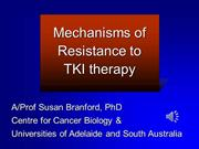 Colt 2014 - Sue Branford - Mechanisms of resistance to TKI 13.8.14