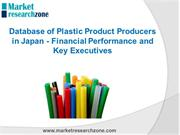 Database of Plastic Product Producers in Japan