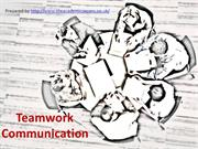 Role of Communication in Teamwork