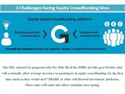 3 Challenges Facing Equity Crowdfunding Sites