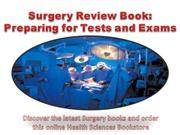 Surgery Review Book Preparing for Tests and Exams