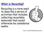 Industrial Scrap Metal - Aaromet Metal Recycling PPT