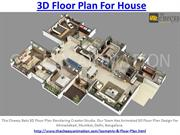 3D Floor Plan For House