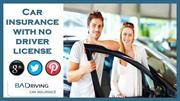 Get Auto Insurance With No License - Save Big On Auto Insurance