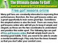 Free golf lessons online