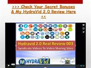 Hydravid 2.0 Review * 100% BEST Hydravid 2.0 Bonus & My Review