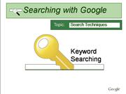 B1 Search Technique and Strategies Basic