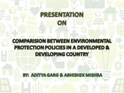 india and usa environmental policy