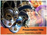 Mardi Gras PowerPoint Template - slideworld.com