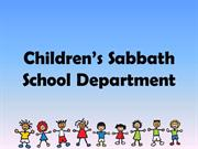 Children's Sabbath School Department 2015 Gangneung Dongbu SDA Church