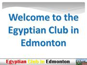 egyptian club first anniversary presentation