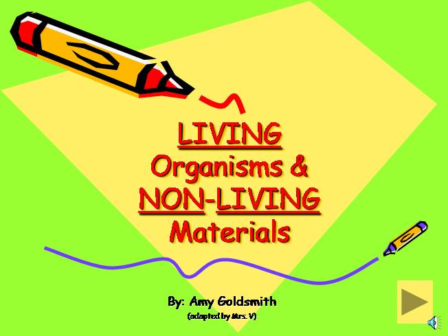Living And Non Living Things