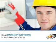 Fast and Reliable Electrician in Bondi – The Electric Guy
