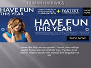 Wigs from human hair