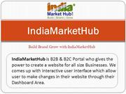 IndiaMarketHub | Create Website | Get Online India