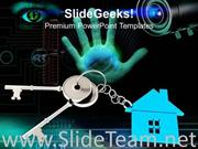 KEY OF HOUSE SECURITY BUSINESS POWERPOINT TEMPLATE