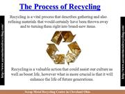 Metal Recycling Centers in Cleveland Ohio PPT