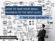 How to Take Your Small Business to the Next Level