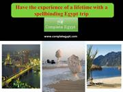 Have the experience of a lifetime with a spellbinding Egypt trip