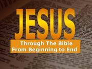 JESUS - The Word of God (PowerPoint)