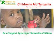 Be a Support System for Tanzanian Children