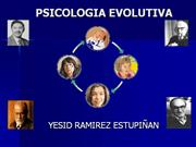 PSICOLOGIA EVOLUTIVA