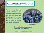 Same Day Waste Collection And Disposal Services In London