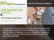 Davie AC Repair Maintenance Services with 100% Satisfaction!