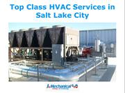 Top Class HVAC Services in Salt Lake City
