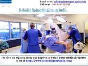 Robotic Spine Surgery in India