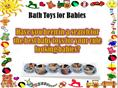 Baby Bath Toys Cheap Deals: Wide Varieties Of Dazzling Durable Toys