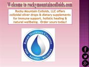 Colloidal Silver Dietary Supplements