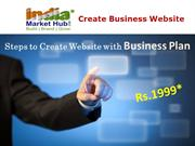 IndiaMarketHub – Create Business Website, Business Plan