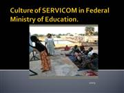 Culture of Service Delivery Excellence