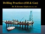 Drilling Practices (Oil