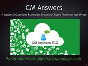 Introduction to the CM Answers Plugin for WordPress