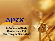 A Complete Study Center for NATA Coaching in Ghaziabad - Apex Studio A