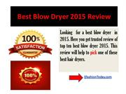 top 10 best hair dryer Review