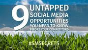 9 Untapped Social Media Opportunities